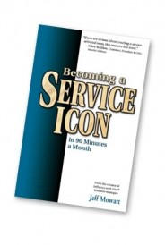 Becoming a Service Icon in 90 Minutes a Month