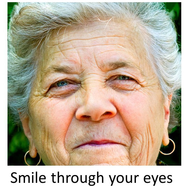 Image result for smile with your eyes